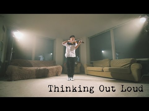 "Ed Sheeran ""Thinking Out Loud"" Jun Sung Ahn Violin Cover"