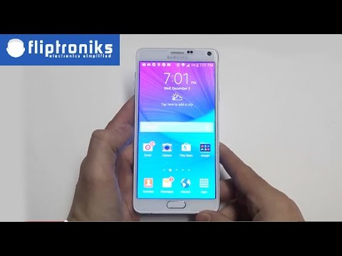 Samsung Galaxy Note 4 How To Use As A Flashlight Fliptroniks Com