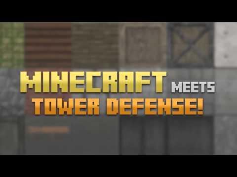Block Fortress Trailer [Minecraft + Tower Defense]