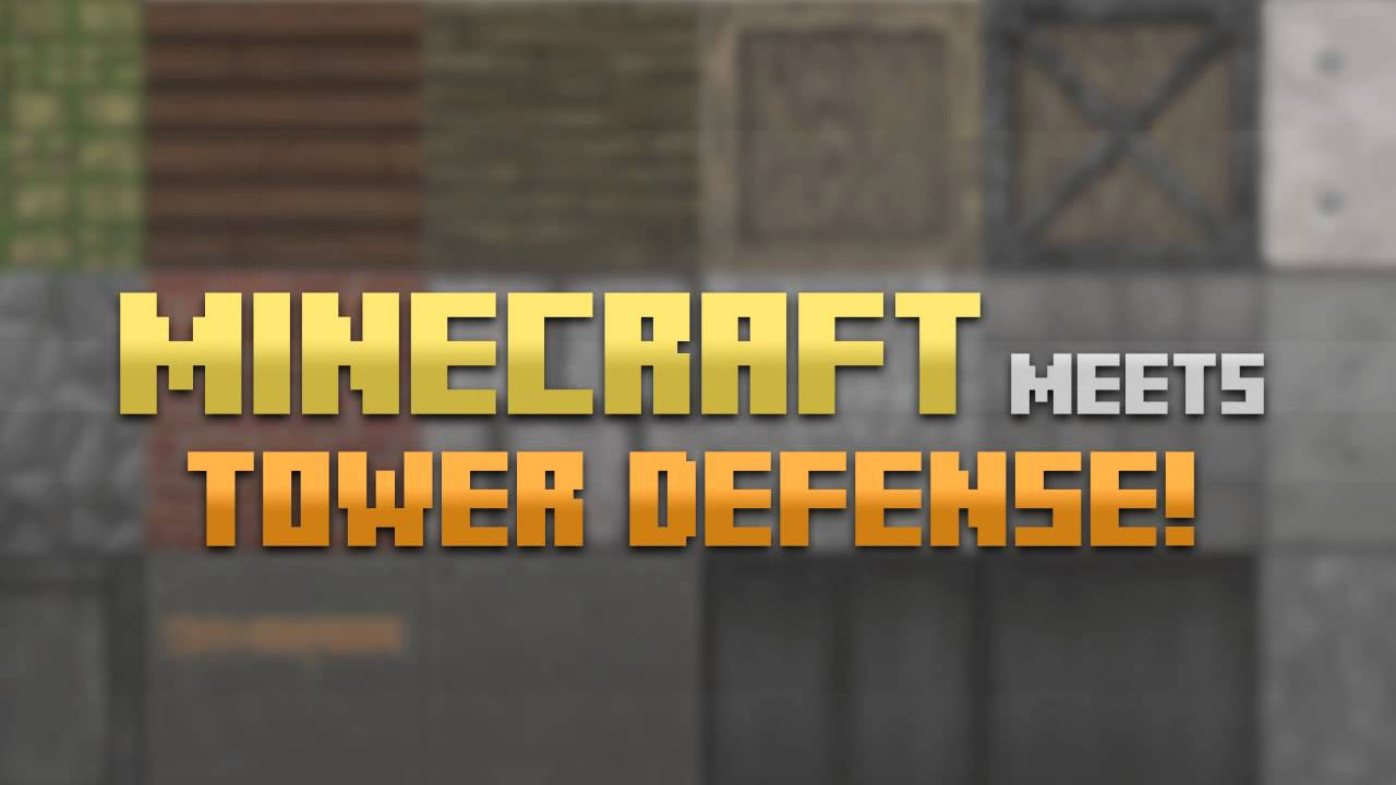 Block Fortress Trailer [Minecraft + Tower Defense]