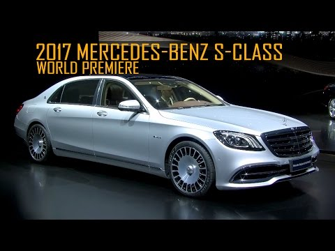 Mercedes-Benz S-Class World Premiere At Auto Shanghai 2017