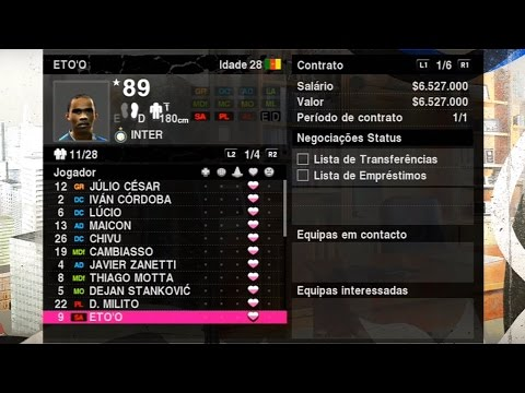 PES 2010 - MATANDO A SAUDADE DA MASTER LEAGUE !!! (Gameplay PS3/X360/PC)