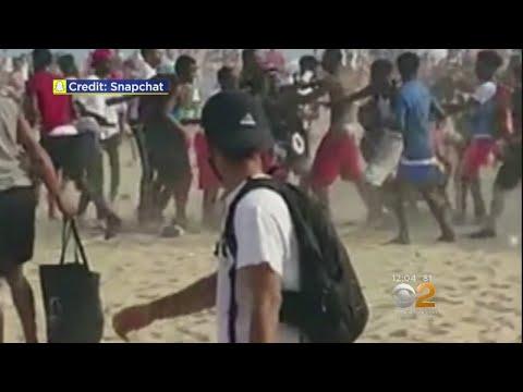 Coney Island Brawl Caught On Tape
