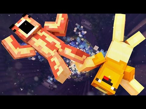 FALLING AND RAGING! | Minecraft Breakfast Brigade | GRAVITY MINI-GAME!