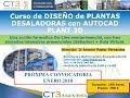 CT3 Ingeniería. Curso de Diseño de Plantas Desaladoras con AutoCAD Plant 3D