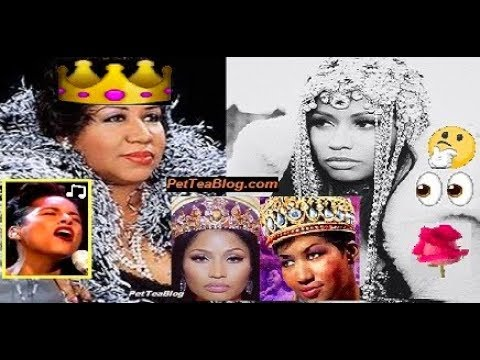 Nicki Minaj Calls Aretha Franklin 'Queen PETTY' 👑 Alicia Keys Pays Tribute Singing 🎙️