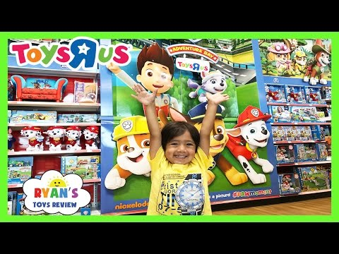 Thumbnail: TOY HUNT at Toys R Us RYAN TOYSREVIEW Paw Patrol Power Wheels Disney Cars Peppa Pig Blaze Kids Toys