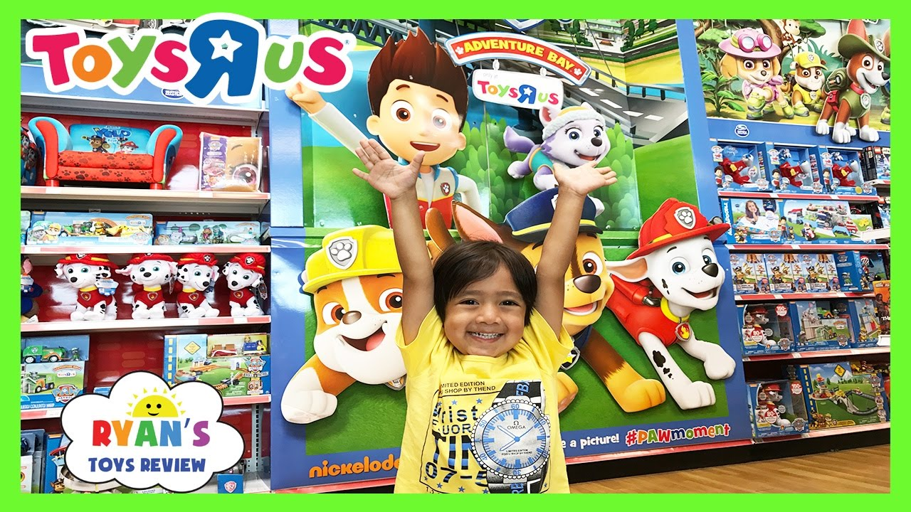 Toy Hunt At Toys R Us For Paw Patrol And More Youtube