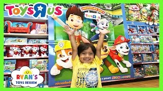 TOY HUNT at Toys R Us for Paw Patrol and more!