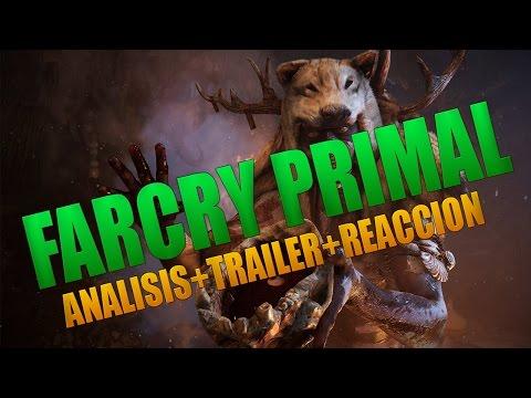 Far cry Primal Analisis | Trailer y reaccion | Info del canal  | Farcry 5 trailer