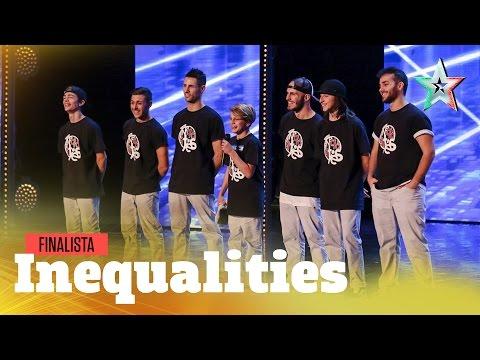 Inequalities, crew da Golden Buzzer