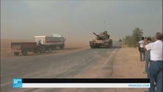قصف مدفعي تركي يخلف عشرات القتلى في جرابلس