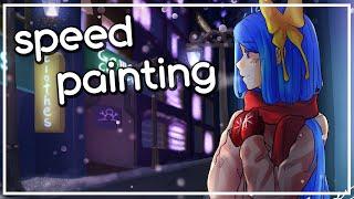 [speed painting] 스피드페인팅 - 방송대기…