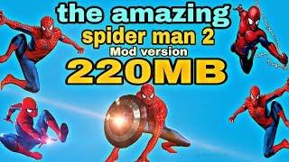 [220MB] Spiderman 2 mod game download ||amazing Spiderman 2 Mod APK+Data