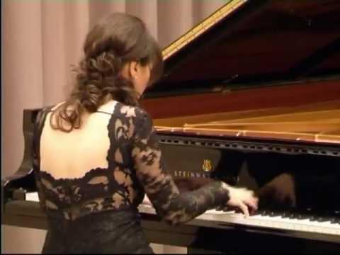 GEORGIAN PIANIST ELISSO BOLKVADZE PLAYS IN UNITED NATIONS GENEVA TV REPORTAGE 2.
