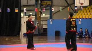 H.I.A. Demonstration Comp Singles - Alex - Eagle Martial Arts Hapkido - www.eaglemartialarts.au