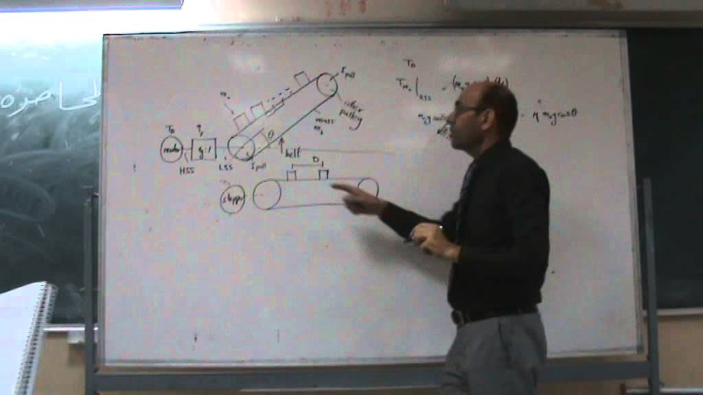 Design of conveyor belts: Equations for calculating the torque, 28/9/2014