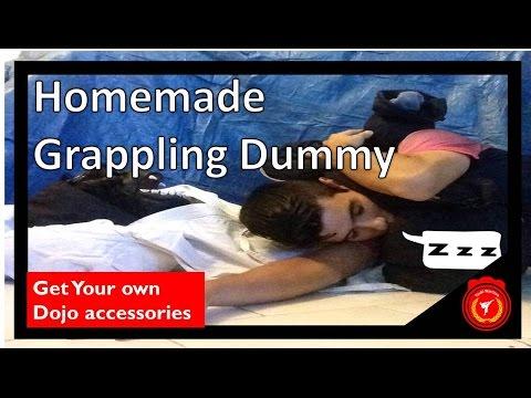 Homemade Grappling Dummy tutorial