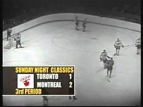 1960 NHL , Stanly Cup Final, 2 game, Montreal Canadiens- Toronto Maple Leafs (4)