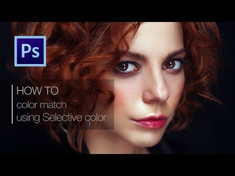 Photoshop Tutorial. High End Color Grade and Retouching women portrait thumbnail
