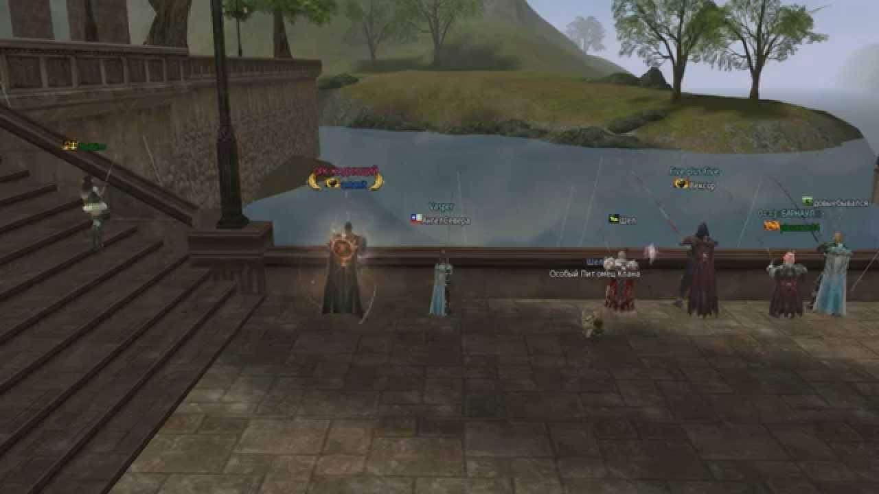 Interlude рыбалка