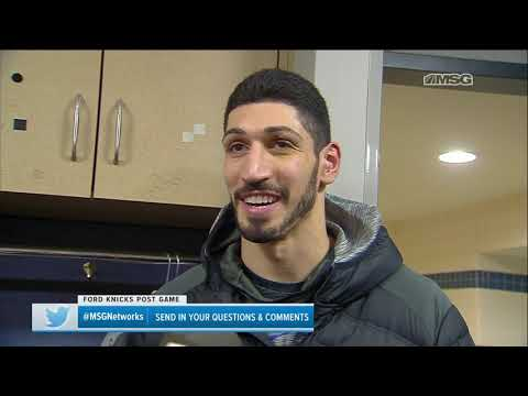 Enes Kanter: I Have Not Asked for a Trade   New York Knicks Postgame