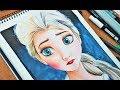 Drawing Frozen2- Elsa (Snow Queen)