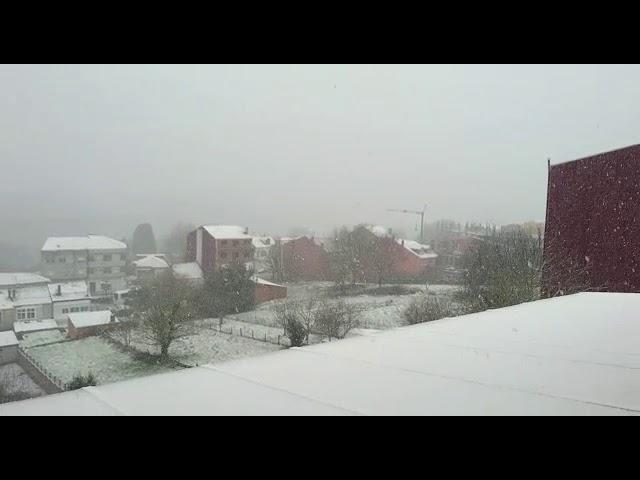 Gran nevada en Vilalba