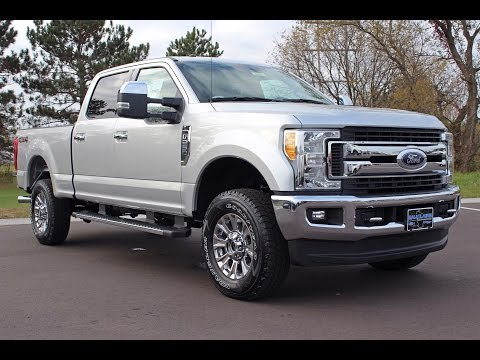 Snow Plow Prep Package Ford - 2017 Ford F-250 Super Duty XLT Crew Cab 6.2L V8 at Eau Claire Ford Lincoln Quick Lane
