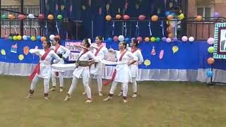 Dance on shape of u by Tanvi and friends