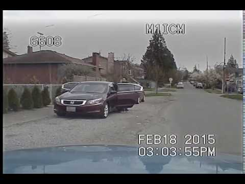 Seattle Police foot chase