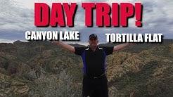 DAY TRIP | CANYON LAKE & TORTILLA FLAT, ARIZONA | WITH MUDNUT59 (2019)