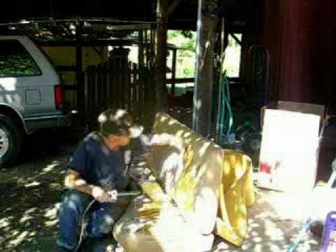 2/3 Redneck Upholstery Repair 1985 Chevy Silverado Half Ton Pickup Truck