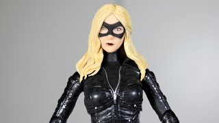 Arrow BLACK CANARY DC Collectibles figure review