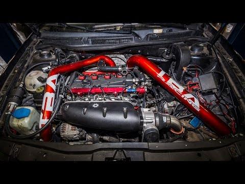 1.8t GTI GTX3071R Big Turbo First Engine Start (TBA Racing)