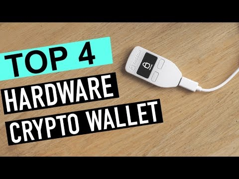 BEST 4: Hardware Crypto Wallets 2018