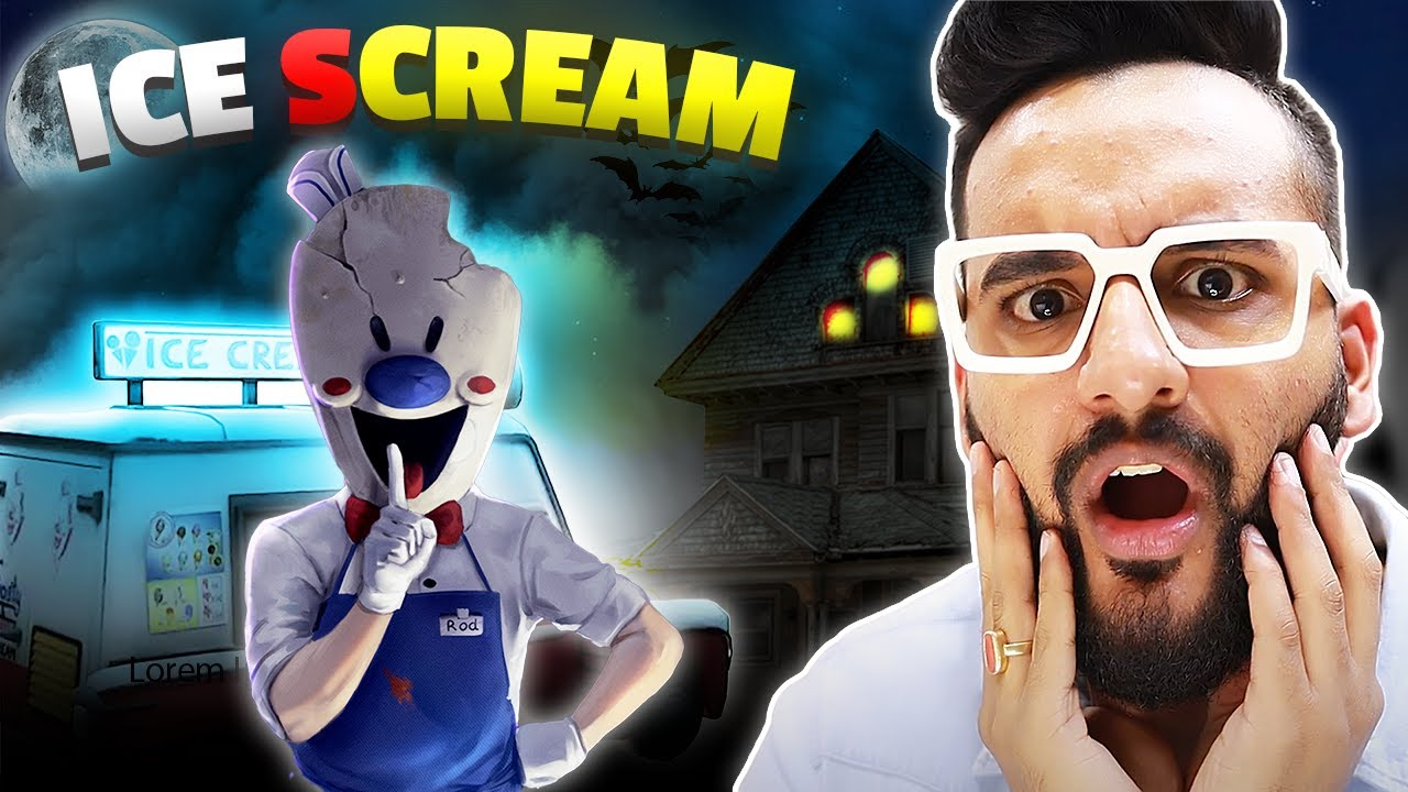 ICE CREAM HORROR GAME !! Ye uncle KIDNAPPER h…