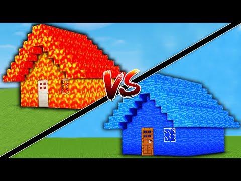 LAV EV VS SU EV! (Minecraft)