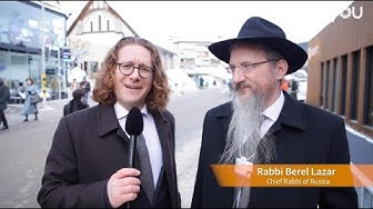 Can we build a more sustainable world? Interview with Rabbi Berel Lazar by Horyou in Davos 2019