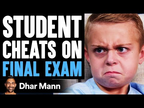 Student CHEATS On FINAL EXAM, Instantly Regrets It | Dhar Mann