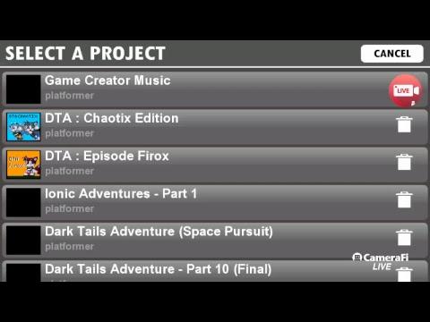 Game Creator Music - Livestream [Dark Tails-X]