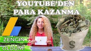 Youtube'den NASIL PARA KAZANILIR? | ADSENSE Nedir? | Ben Ne Kadar PARA Kazanıyorum?