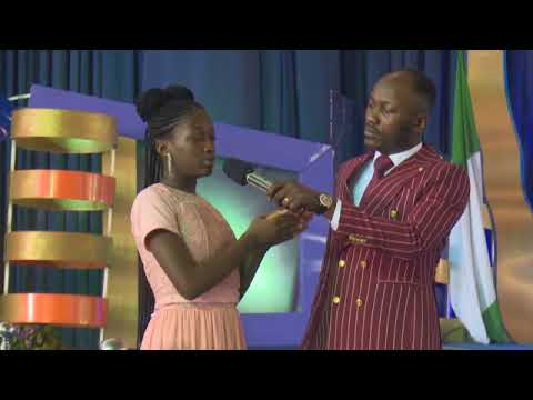 Apostle Suleman's Second Daughter & Only Son Escape Accident On Their Way To Benin City