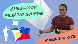 Revisiting Childhood Filipino Games and Flying a Kite