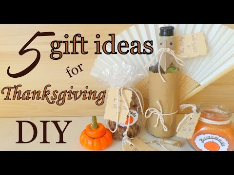 DIY Thanksgiving  Decorations & Treats   Gifts & Crafts For Family And Friends    By Fluffy Hedgehog