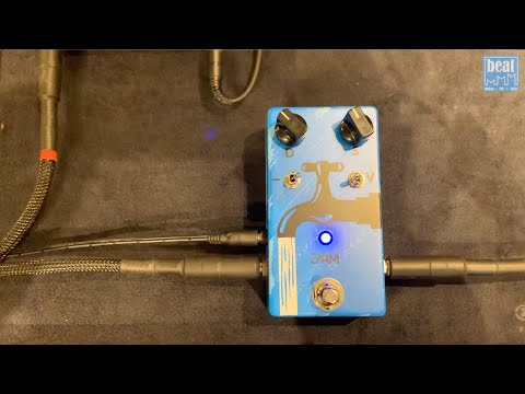 JAM Pedals WaterFall Chorus/Vibrato Pedal - Bass Demo
