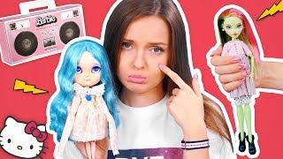 КУКЛА ПЛАЧЕТ! Что с Венерой?😰Посылки с куклами из США, ООАК, Блайз (Айси), Aliexpress/Распаковка