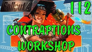 Fallout 4 CONTRAPTIONS WORKSHOP Подпольное Производство Механиста [ #Fallout4 ] #112