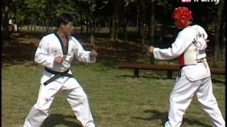Taekwondo Step by Step Ep152 Taegeuk 6 Jang Olgul Bakkat makki + Mureup chigi 얼굴 바깥 막기+무릅 치기