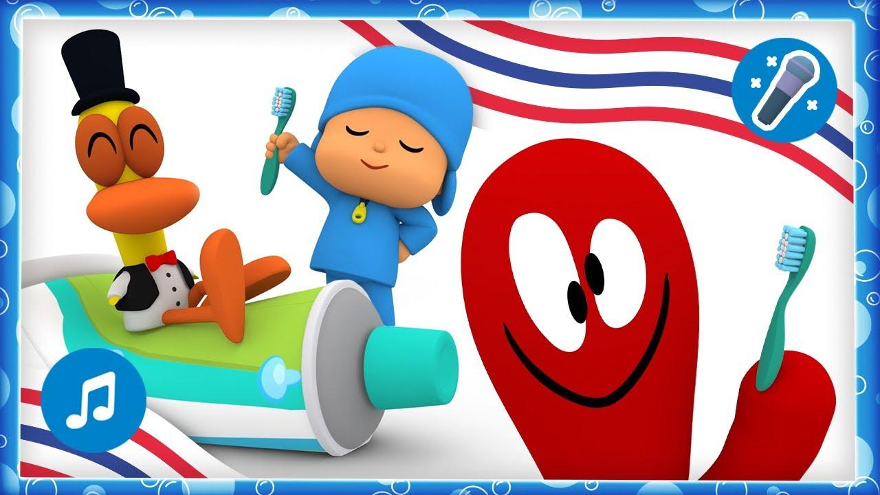 🎤 ¡Nos lavamos los dientes!  | Karaokes, Caricaturas, Dibujos, Canciones Infantiles para niños